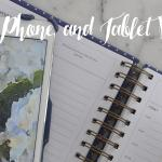 Free Watercolor Phone and Tablet Backgrounds