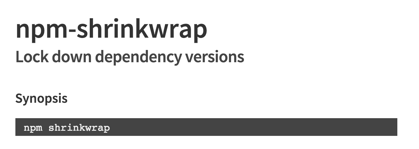 Stop checking your dependencies in to source control