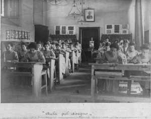 Stelline in un'aula di studio