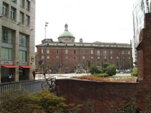 Palazo delle scuole dei barnabiti di S. Alessandro sull'attuale Piazza Missori (foto di Robert Ribaudo)