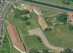 Ciò che rimane oggi dell'antico borgo agricolo.