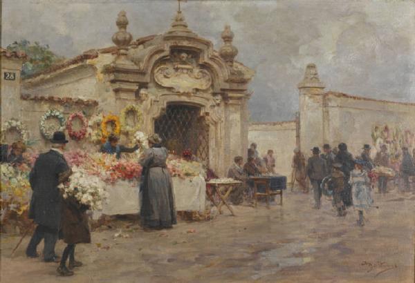 La cappelletta-del fopponino di Porta-Magenta di Achille-Beltrame,1900-1910