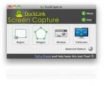 Duck Link screen capture app δωρεάν
