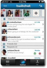 TwitChat, Twitter + Instant Messaging