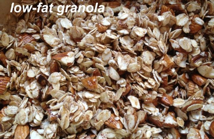 Easy low-fat granola