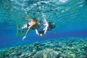 crete snorkelling milatos