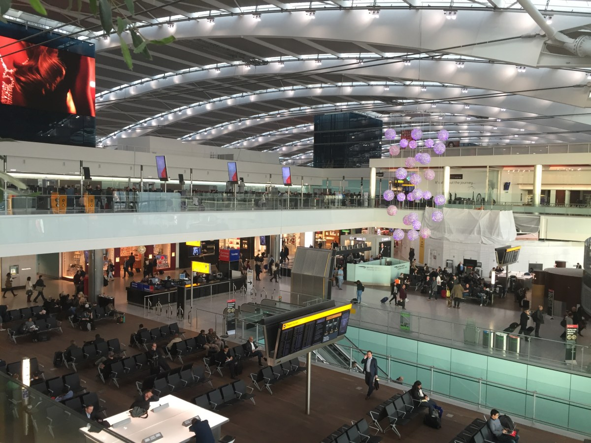 Double Heathrow Rewards in T3/T5 until 31March