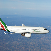 20% off Alitalia flights booked this weekend - 3 May - 30 June 16 (not USA/France/Holland)