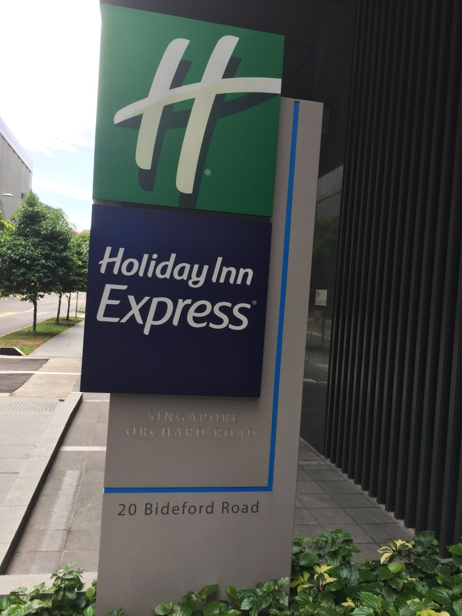 REVIEW: Holiday Inn Express, Orchard Road, Singapore