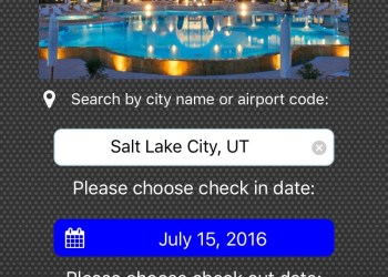 Select the place and date