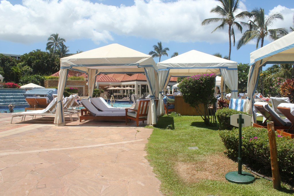 Cabanas Grand Wailea : Review of grand wailea a waldorf astoria property