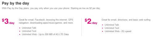 Prepaid Cell Phone Plans  No Credit Check   Monthly 4G   T Mobile