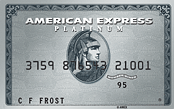 American Express Platinum card.
