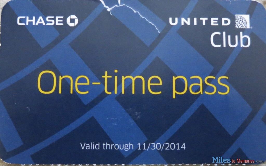 Club Pass United Club Pass Giveaway