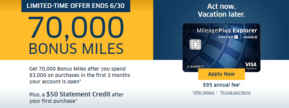 Chase Mileage Plus >> United MileagePlus Explorer 75K + $50 Targeted Offer & Why I'm Tempted to Apply (Two Other ...