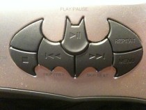 DVD front console bat-shaped button panel