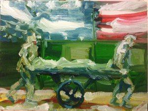 """Night Run Through Hero's Hallway"" / David Eckerson"