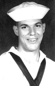 Machinist's Mate John G . Shellenberger, author's brother, who served aboard the USS Manatee during the Vietnam War (author photo)