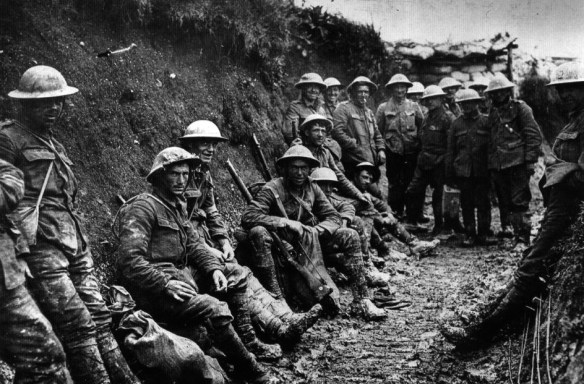"""Many generals refused to recognize PTSD in World War One, or """"shell shock"""" as it was known at the time. (Image source: WikiCommons)"""