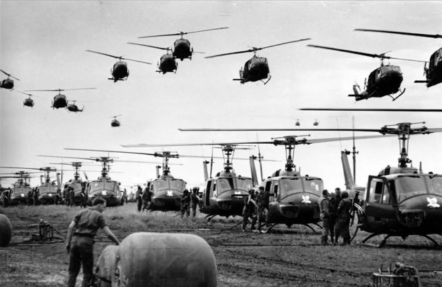 The War in Vietnam might have been an 'American War' per se, but the U.S. was joined by six other allies in its struggle to defeat the communists in South East Asia.