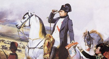 Napoleon Bonaparte: Warrior, emperor... and reader? (Image source: WikiCommons)