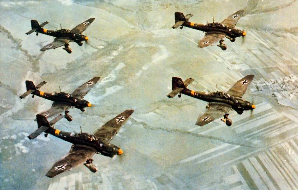 The Sirens of Death – 11 Amazing Facts About the Ju 87 Stuka