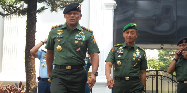 Panglima TNI: Nanti Jangan Bentak-bentak Presiden