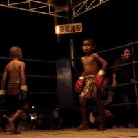 Muay Thai Fight: Lekla Sit Songsompong vs. Kaichon Simpayam, Kru Meung, Buriram, January 24, 2012