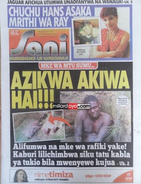 Ya Leo Jumatano, Simba Mfalme Mpya Mapinduzi, Kamati Kuu Ya CCM, Nk