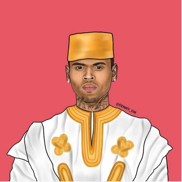 Chris-Brown-as-Chris-Kofi-Sarpong-Brown-600x600