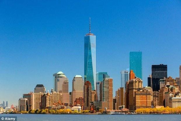 One World Trade Center mjini New York inasimamia katika 1,776ft mrefu, urefu mirroring mwaka Azimio la Uhuru ulisainiwa, na ni wa sita juu ya majengo orodha ghali zaidi duniani