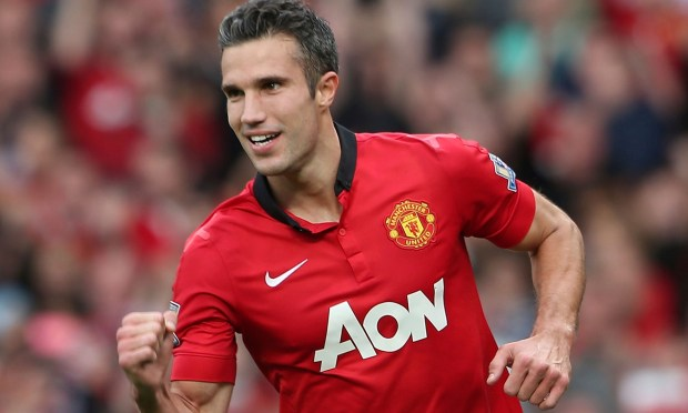Robin Van Persie was rested for Manchester United's midweek win over Real Sociedad