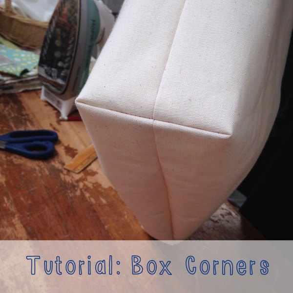 Tutorial Two Ways To Sew Box Corners Mill End Store