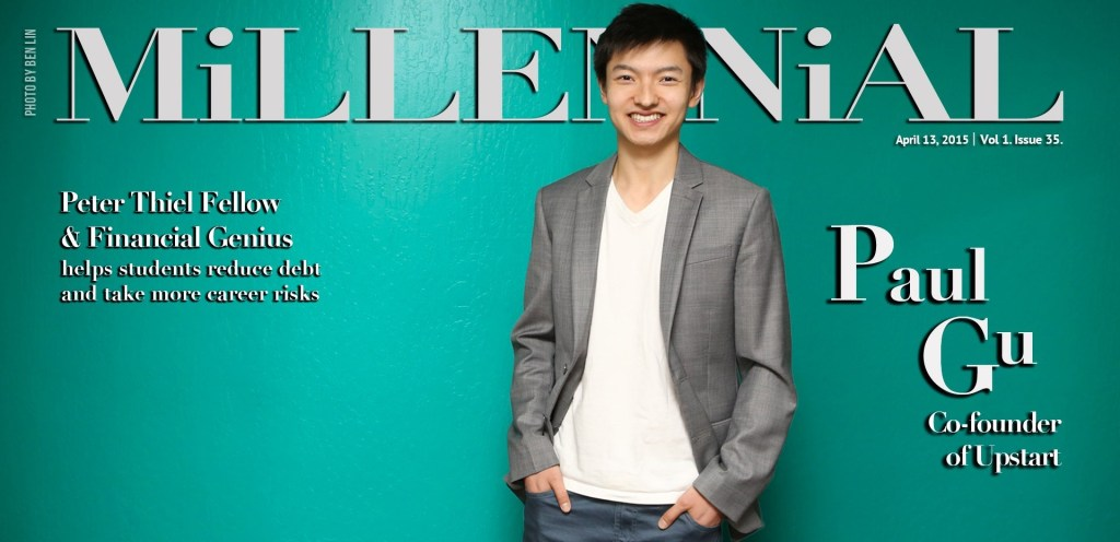 Millennial Magazine - Paul Gu Cover