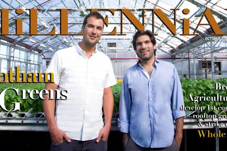 Millennial Magazine - Gotham-Greens-Cover