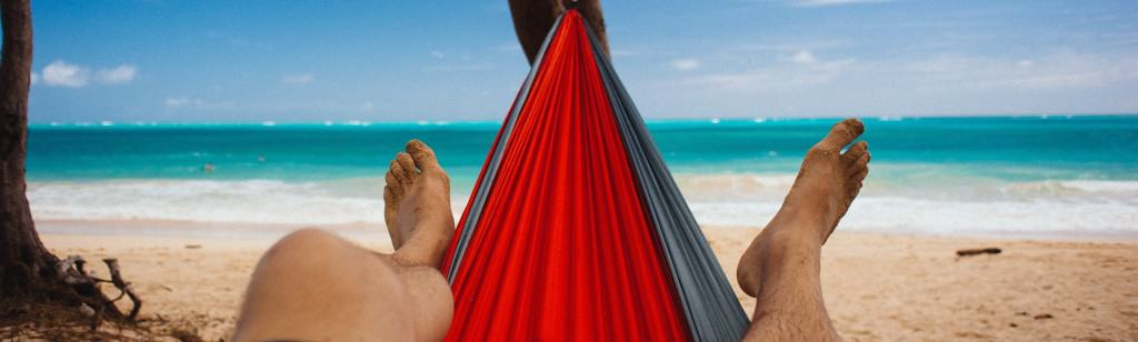 Hammock on Waimanalo Beach