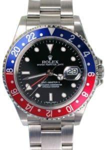 "Rolex GMT with ""Pepsi"" Bezel"