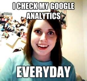 Obsessed Google Analytics