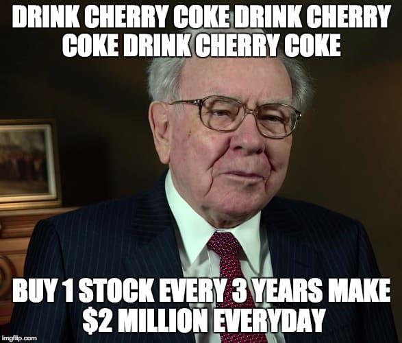 Warren Buffet Meme