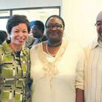 Valerie Jarrett, Senior Advisor to President Obama visits Milwaukee campaign office