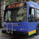 Press Conference and bus tour August 15 to launch new bus routes to the suburbs