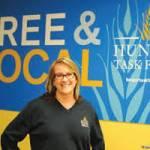 Sherrie Tussler, Executive Director Hunger Task Force.