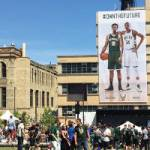 "Bucks Unveil New Jerseys Fit for a ""Throwback Thursday"" at Summer Block Party"