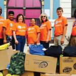 AT&T Pioneers Donate Over 650 New Backpacks to Milwaukee Elementary School Students