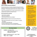 Healthy Living With Diabetes Free Workshop