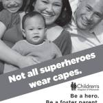 Be A Hero – Be A Foster Parent