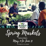 Fondy's Spring Market Begins this Saturday
