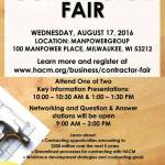 Contractor Fair Wednesday August 17th