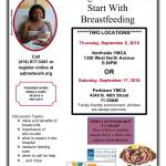 Getting Off to A Great Start With Breastfeeding Sept 8 & 17