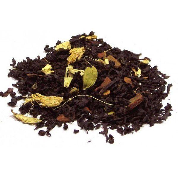 té negro chai, té negro